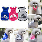 New Adidog Fashion Summer Relax Vest Cat Dog Clothes Puppy Apparel Coat T-shirt