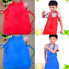 Children Kids Apron Chicken Baking Cooking Art Painting Apron Pocket Craft Bib