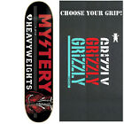 MYSTERY Skateboard Deck HEAVYWEIGHTS 8.375 with GRIZZLY GRIPTAPE image