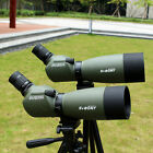 SV FMC 20-60x60mm/25-75x70mm Porro 45Degree Angled Zoom Spotting Scope+Tripod