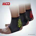 Sports Foot Ankle Support Brace Strap Breathable Foam Pads Guard Gym Protector
