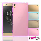32nd Clear Gel Case Cover For Sony Xperia Phones + Screen Protector & Stylus