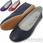 Ladies / Womens Leather Slip On Summer / Holiday / Casual Pumps / Shoes / Sandal