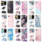 "For iPhone 7 4.7"" Colorful Patterns PU Leather Card Wallet Stand Flip Case Cover"