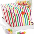 Rainbow Stripe Paper Bags Sweets Retro Vintage Candy Wedding Birthday choose