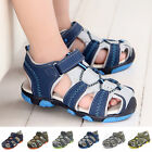 Casual Non-slip Sandals Shoes Boy Kids Summer 1 Pair Toe Toddler Baby Closed