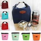 Colorful Portable Lunch Picnic Insulated Bag Storage Carrier Outside door SR