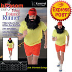 CA240 Long Distance Forrest Gum Runner Sports Marathon Novelty Stag Mens Costume