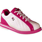 3G WOMENS KICKS BOWLING SHOES WHITE/PINK