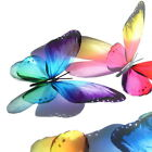 B186- Butterflies Weddings Crafts, Cake Topper Decorations Cards