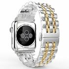 Stainless Steel Wrist Watch Band Strap Bracelet For Apple Watch Series 5/4/3/2/1 image