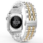 Stainless Steel Wrist Watch Band Strap Bracelet For Apple Watch Series 4/3/2/1 image