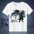 World of warcraft CosplayT T-shirt with short sleeves printed blue cat clothes