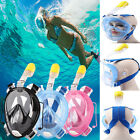 Breath Full Face Diving Mask Surface Snorkel Scuba for GoPro Swimming Tools L/XL