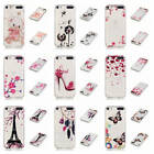 For iPod Touch 5 / Touch 6 Transparent Painted Bumper Soft Silicone Fashion Case