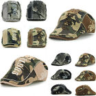 Fashion Men Cabbie Camo Newsboy Beret Flat Cap Hat Hunting Military Army Cap