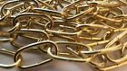 Rothley 2mm 2.0mm Brass Plated Steel Decorative Chain 2 Meters CD20BP