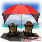 Portable Sun and Weather Umbrella Shelter Sport or Beach 8 Foot Canopy Tent