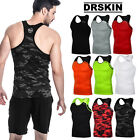 Undershirts Running Shirt Tank Tops Cool Dry Compression Baselayer Sleeveless