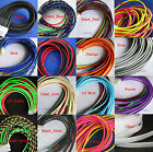 "3MM 1/8"" Wide TIGHT Braided PET Expandable Sleeving Cable Wire Sheath 10M/50M"