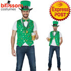 CA277 Lucky of the Irish Saint Patrick Leprechaun Shamrock Costume Accessory Kit