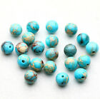 4/6/8/10mm Natural Stone Gemstone Round Spacer Charm Loose Beads Craft