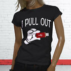 I PULL OUT FUNNY NERD GEEK HUMOR COMPUTERS USB Womens Black