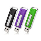 3 Pack Multi-color 1G-16G USB Flash Drive Thumb Pen Drives Memory Stick Storage