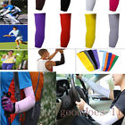 1Pair Sun UV Cooling Arm Sleeves for Cycling Basketball Football Running Sports