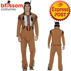 Native Western Warrior Mens Costume