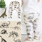 Toddler Kids Baby Boys Girls Dinosaur Bottom Leggings Harem Pants Trousers 0-24