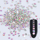 1440pcs Flat Back 3D Rhinestones Colorful Nail Art Decoration SS3-12 Manicure