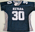 NEVADA WOLFPACK NCAA FOOTBALL JERSEY LADIES SMALL, MEDIUM, LARGE OR XL #30 NEW!