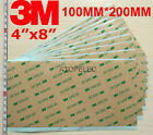 "5pcs 3M 300LSE Double Sided SUPER STICKY HEAVY DUTY SHEET of ADHESIVE TAPE 4""x8"""