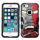 Iron Man #FC Hybrid Armor Case for iPhone SE/6/S/7/Plus/Galaxy S8/Plus