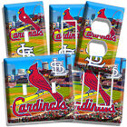 NEW ST LOUIS CARDINALS MLB BASEBALL STADIUM LOGO LIGHT SWITCH OUTLET COVER PLATE on Ebay