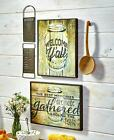 MASON JAR Palisade HANGING ART COUNTRY LOOK WOOD ARTWORK LIVING ROOM HOME DECOR NEW