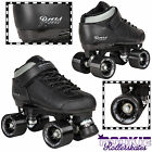 Rookie Raw Roller Derby Skates Black Vegan Leather Unisex Kids Adults Mens Women