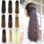 """Hot Women Girls Long Wavy Hair Curly Hair Extensions Ponytail 21"""" Synthetic 54t"""