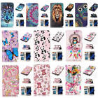 Fr Samsung Galaxy S7 Edge Relievo 3D Varnish Leather Flip Card Wallet Case Cover