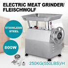250KG/H Commercial Meat Grinder Stainless Steel l Electric Kitchen Speed PRO