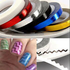 1pcs woomen Rolls Striping Decals Foil Tips Tape Line DIY Nail Art Tips Design