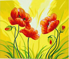 "16X20""Paint By Number Kit DIY Oil Painting On Canvas--Blooming Flowers SPAH627"