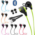 Wireless Stereo Sports Sweatproof Bluetooth Earphone Headphone Earbuds Headset
