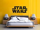 """Movie Title """"Star Wars"""" Wall Art Sticker, Wall Quote, Decal, Modern Transfer,"""
