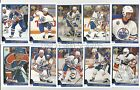 1993-94 UPPER DECK EDMONTON OILERS Select from LIST SERIES 2 HOCKEY CARDS