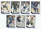 1993-94 UPPER DECK HARTFORD WHALERS Select from LIST SERIES 2 HOCKEY CARDS