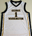 GEORGE WASHINGTON COLONIALS MEN'S BASKETBALL JERSEY NCAA #1 NEW! XL OR 2XL XXL