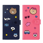 Line Friends Large Passport Case Travel Card Cash Ticket Cute Holder Wallet
