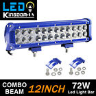 "4x 18W 4"" Spot LED Light Offroad Driving Pod Light SUV 4WD ATV Truck 12V"